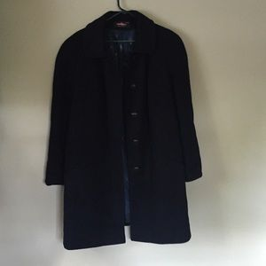 Alorna women winter coat, dark blue, Size XL